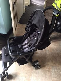 Joie pushchair with car seat