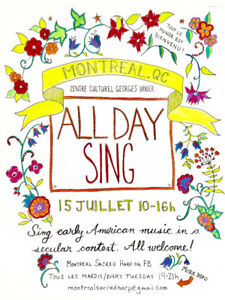 All Day Singing Event!