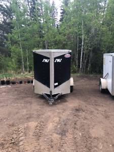 2017 Cargo Mate 5x7 Enclosed Trailer