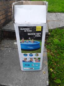 Kids inflatable pool..