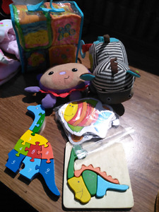 Various Toys and Baby Play Mat