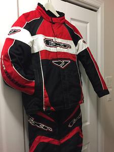 Habit motoneige FXR-Racing Junior 12ans