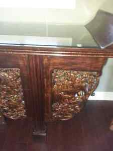 Exotic furniture dining table 6 chairs alter table Belleville Belleville Area image 10