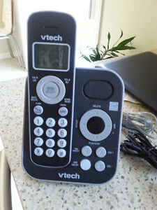 vTech 2-Handset DECT 6.0 Cordless Phone with Answering Machine (