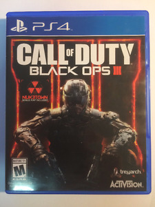 Call of Duty Black Ops 3 Ps4 great condition