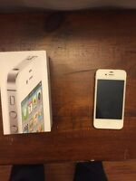 White I-phone 4s 16gb
