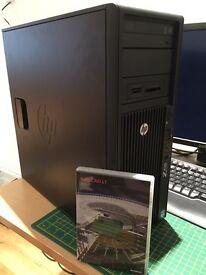 HP Z420 Workstation with AutoCAD LT 2013