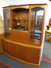 Morris of Glasgow Display Cabinet. FREE