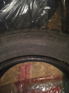 MICHELIN WINTER TIRES with RIMS 225 55 16 Kitchener / Waterloo Kitchener Area image 1