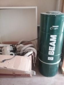 Beam built-in vacuum working condition