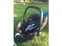 Maxi Cosi Pebble baby car seat!!