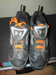 Size 6 Under Armour and Adidas Cleats