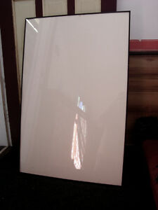 "USED LARGE PROFESSIONAL CUSTOM METAL FRAME 27"" x 41"" POSTER SIZE"