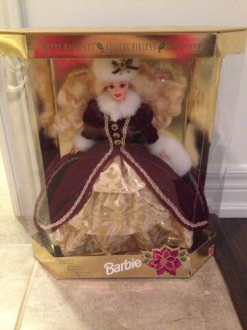 1996 Special Edition Happy Holidays Barbie In Box