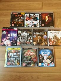 PS3 game bundle 10 games