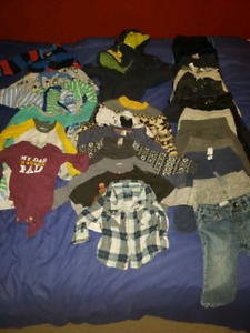 12 months old winter and fall boy clothes
