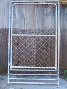 4' chain link snow gate