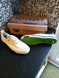 Superdry mens trainers size 10 new