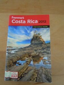 Frommer's Costa Rica 2012 Travel guide book < New condition>