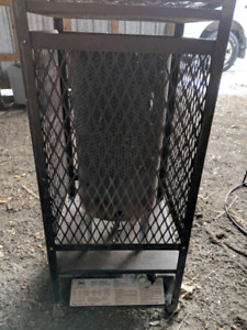 Natural gas heaters