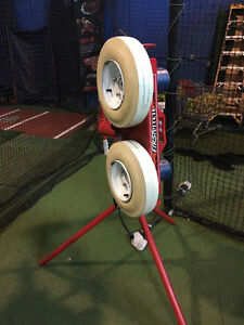 FIrst Pitch Pitching Machine and automatic ball feeder for sale