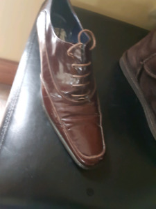 Leather shoes sz 7