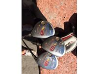 Taylormade Burner 3,4 and 5 rescue woods