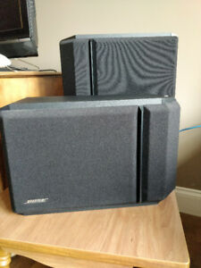 Bose 301 + 201 Speakers + Bose VCS10 Centre Channel Series IV