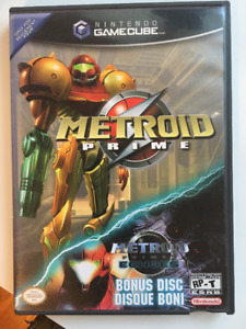 Selling Metroid Prime and Metroid Prime Echoes for Gamecube