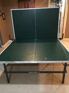 Kettle Ping Pong Table - top damaged