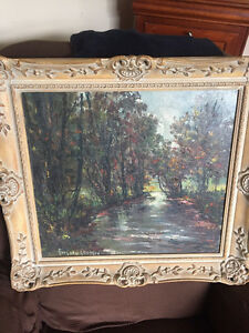 Oil Painting Frans Van Genesen Dutch/Belgian 1887-1945