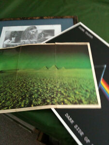 pink floyd dark side of the moon  3 posters 50.00 firm