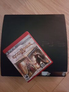 PS3 PlayStation 3 with God of War Origins Collection