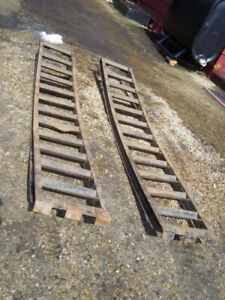 Heavy Duty Equipment Loading Ramps