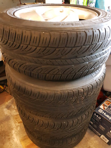 P235/55R16 Potenza 16 inch with Rims