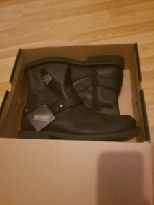 Men's size 13 Harley Davidson riding boots- NEW