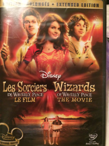 kids DVD Wizards of Waverly place The movie, DVD enfants