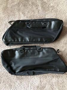 Saddle bag liners