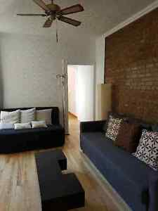 Furnished apartment Plateau 6 1/2