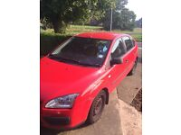Ford Focus LX 55 Plate Petrol Red