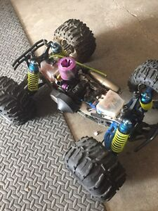 TeamLosi 1/8 scale nitro rc car