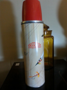 Sold! 1960s Fly Fishing Thermos