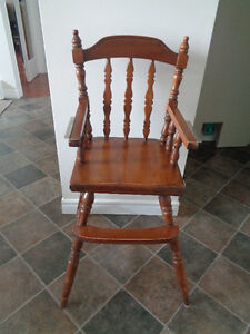 Older Wooden Highchair