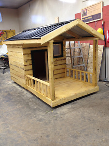 Large Insulated Dog House for a great Dane