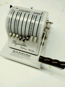 Vintage Paymaster Accounting Machine