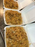 Flavor full halal food