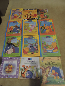 12 Winnie the Pooh books - Enfield
