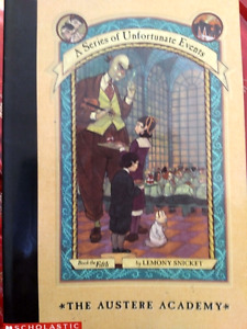 A series of Unfortunate Events -- The Austere Academy fifth book