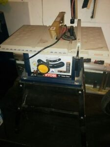 "10""  Table Saw Ryobi"