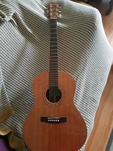 Simon & Patrick Pro Folk Acoustic Guitar w. Pickup- Natural
